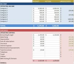 Excel Budget Examples Sample Budget Template Excel Template Creator