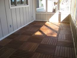 screened porch flooring ideas home design