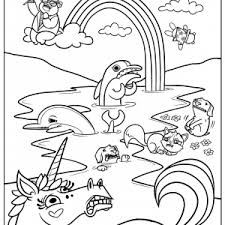 Small Picture Printable Rainbow Coloring Pages For Kids Printable adult