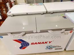Tủ đông Sanaky VH-4099W4K INVERTER mặt kính cường lực - Giá rẻ