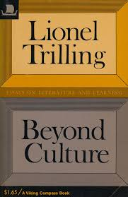 beyond culture essays on literature and learning lionel trilling beyond culture essays on literature and learning