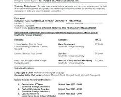Resume Language Skills Language Skill Resume Sample Skills Orlandomoving Co