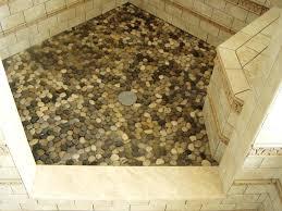 pebble tile shower shower floor tiles pebble pebble tile shower floor installation