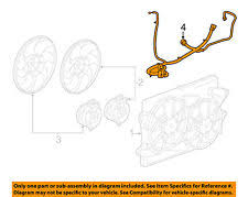 fan wiring harness gm oem engine cooling fan wiring harness 22810669