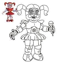 Fnaf Sister Location Coloring Pages Lovely Luxury Harvest Coloring
