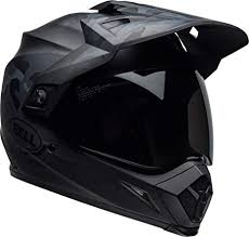 Bell Mx 9 Adventure Mips Full Face Motorcycle Helmet Stealth Matte Black Camo X Small