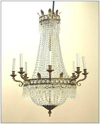 chandeliers vintage french chandelier antique country empire crystal beds yer gallery 9