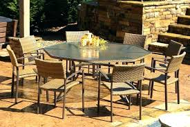 outdoor dining sets for 8. 8 Seat Patio Dining Set Fantastic Outdoor  Sets For . B
