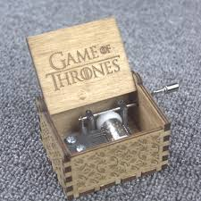 Engraved Wooden Music Box Game Of Thrones Game of Thrones Theme Handmade Wooden Music Box Game Of Thrones 23