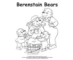 Small Picture berenstain bears coloring pages printables 28 images