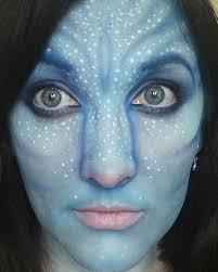 female na vi avatar makeup