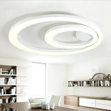 led kitchen ceiling lights white acrylic led ceiling light fixture flush mount lamp restaurant led kitchen