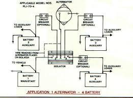 battery isolators e marine systems 1 alternator 4 battery · 2 alternator 3 battery