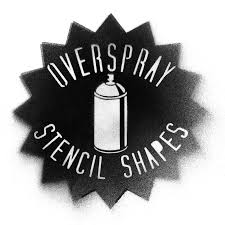 Stenciling Spray Paint Overspray Stencil Shapes Thevectorlab