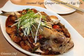 Renyahnya ikan dalam balutan saus dijamin bisa membuat lidah anda bergoyang. Steamed Tiger Garoupa Grouper With Tausi Fermented Black Bean And Egg Tofu Resep Ikan Kerapu Tahu Tausi Chinese Seafood Recipe Shellfish Recipes Egg Tofu