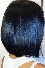 50 tasteful blue black hair color ideas