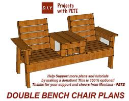just watch the entire to learn more about how to build this piece of garden furniture at home