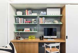 small home office desks. Make Your Home Office A Part Of Storage Wall For More Built-in Small Desks I