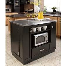 stainless steel top kitchen island