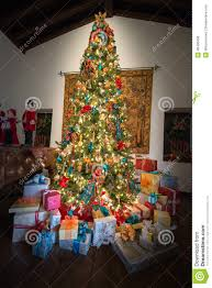 Presents Holiday Christmas Tree, Colors Stock Photo - Image: 48498436