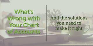 Whats Wrong With Your Chart Of Accounts And The Solutions
