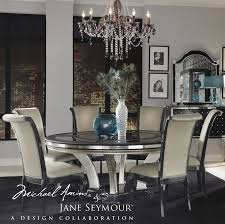 Set By Aico Hollywood Swank Collection - Aico dining room set