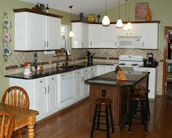 Brookhaven Kitchen Cabinets New Brookhaven Island Nut Brown On Maple With Matching Molding