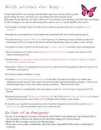 Birth Plans Birth Plan Archives Cherish24 20