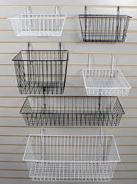 Chrome Powder Coated Hanging Baskets Stackable Containers