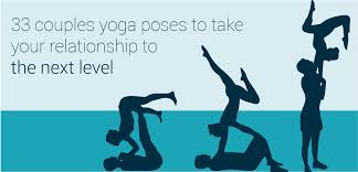 33 couples yoga poses to take your