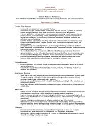 Research Resume Examples Research Resume Examples Examples of Resumes 1