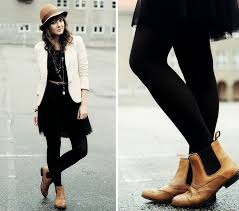 Accessorize a dressy outfit with block heeled chelsea, or go for timeless tan boots with your favourite denim. Wingtip Boots Chelsea Boots Outfit Clothes For Women Fashion