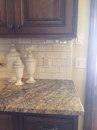 Kitchen Backsplash With Granite Countertops Mesmerizing Backsplash Questions Where To End And Edging Options Kitchens