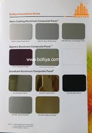 Metal Building Colors Chart Color Chart Special Colors Guangdong Bolliya Metal