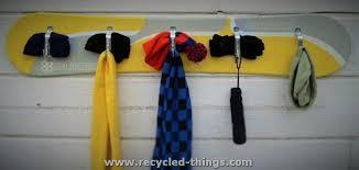 Snowboard Coat Rack Magnificent Snowboard Coat Rack DIY Pinterest