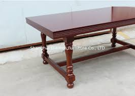 long wood dining table: dark brown restaurant dining tables personalized size long wood table