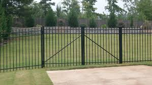 metal fence gate. Brilliant Metal Steel Fence With Gate  Intended Metal T