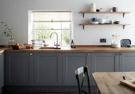 Gray Kitchen Cabinet Elegant A Dark Grey Shaker Style Kitchen
