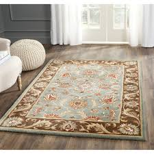 bold and modern blue brown area rug imposing ideas charlton home cranmore hand small rugs vibrant stylish decoration affordable fl red round lounge wool
