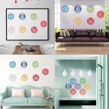 home décor home stickers mandala yoga