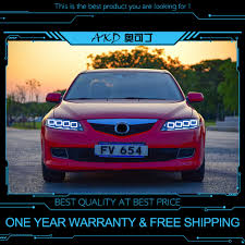 2006 Mazda 6 Lights Akd Tuning Cars Headlight For Mazda 6 Mazda6 2004 2015 Headlights Led Drl Running Lights Bi Xenon Beam Fog Lights Angel Eyes