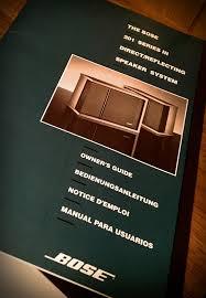 bose 201 series iii. 1991, for the bose 201 series iii