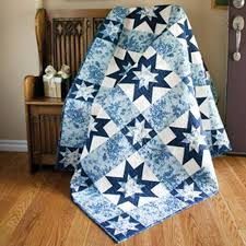 55 best Patchwork Quilt Patterns images on Pinterest | Craft ideas ... & Two variations of the classic Sawtooth Star Block twinkle and shine in this  frosty tribute to · Lap Quilt PatternsTwo Color ... Adamdwight.com