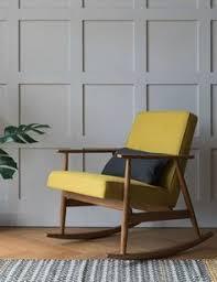 h lis fox rocking chair wool four colours available rocking chair nurseryrocking chairslounge chairsyacht interiormid century modern