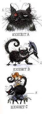 kinda silly jet eating people black cat art poes the black cat  the black cat from the edgar allan poe story