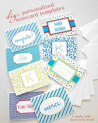 Diy Personalized Notecards Diy Note Cards Note Cards