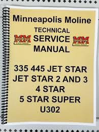 335 minneapolis moline tractor technical service shop manual details about 335 minneapolis moline tractor technical service shop manual