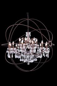 large orb chandelier. Large Orb Chandelier Metal World Ideas For You
