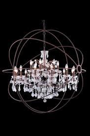 large orb chandelier large metal orb chandelier world ideas for you