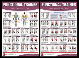 Multi Gym Wall Chart Weider 8530 Exercise Online Charts Collection